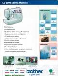 home sewing machine basic