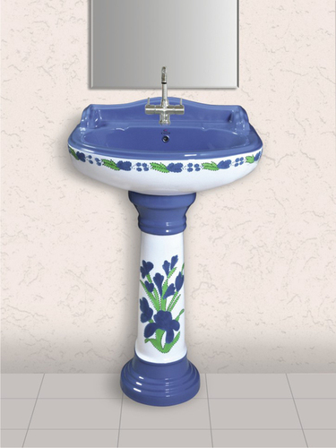Porcelain Pedestal Wash Basin