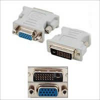 DVI Male to VGA Female Connector