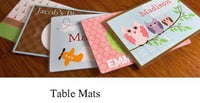 Rubber Table Mats Printing