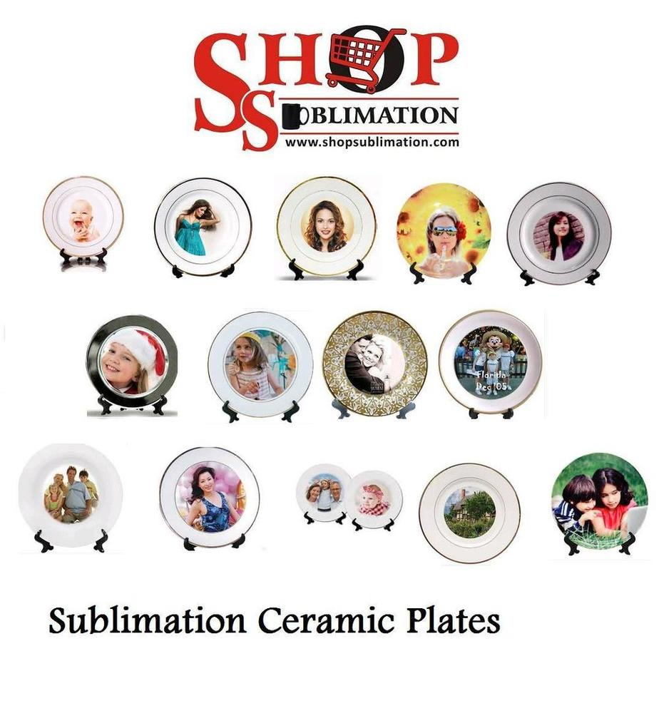 sublimation ceramic plates