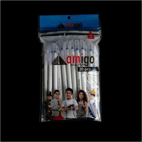 Amigo Hi Speed Milky Ball Pens (Pack of 20)