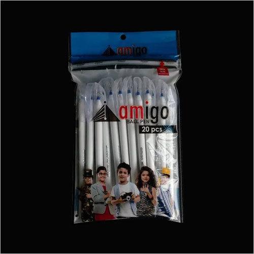 Amigo Hi-Speed Milky Blue Ball Pens (Pack of 20)