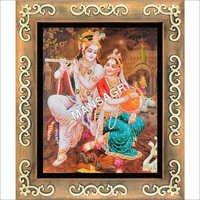Radhe Krishna 3D Picture Frame