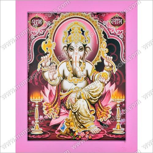3D Ganesh Photo Frame