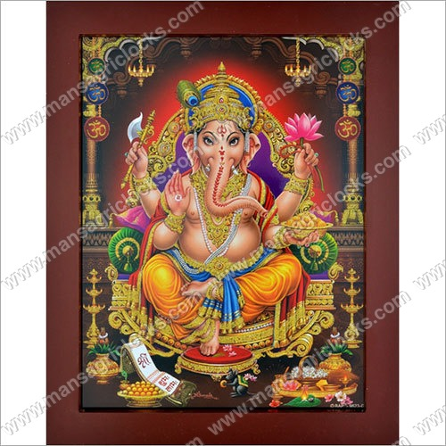Pictoreal Ganesh 3D Picture Frame