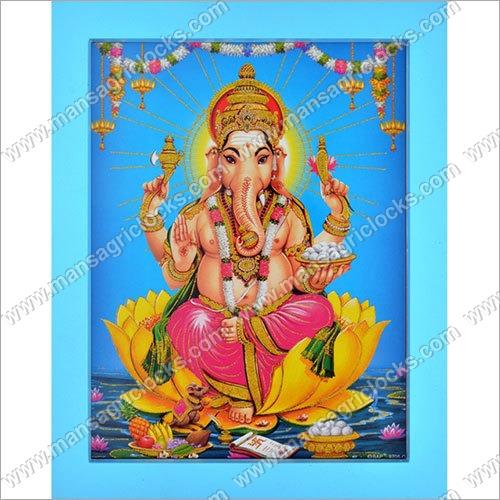 3D Indian God Picture Frame