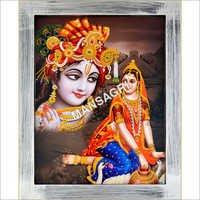 Radhe Krishna 3D Photo Frame
