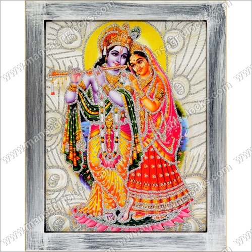 Decorative Radha Krishna 3d Frame Mansagri Time Gifts Industries