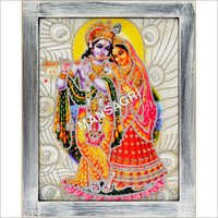 Decorative Radha Krishna 3D Frame