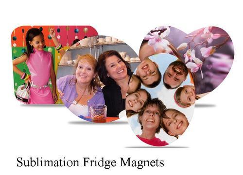Sublimation Fridge Magnets