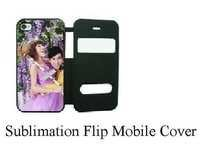 sublimation flip mobile covers