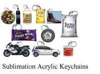 Sublimation Acrylic Keychains