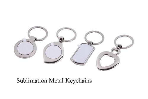 sublimation metal keychains