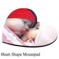 heart shape mousepad