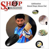 Sublimation Round Shape Mouse pad