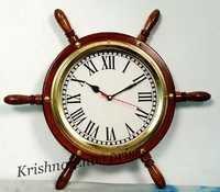 Wheel Nautical Clock