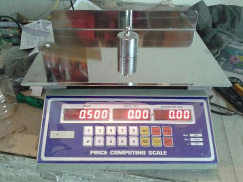 Mild Steel Table Top Scales