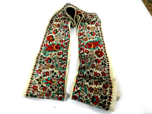 pashmina needle work boarder/antique boarders