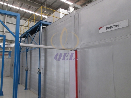 Liquid Type Spray Painting Booth