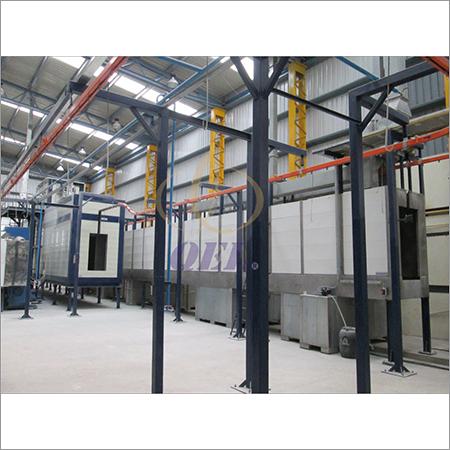 Overhead Conveyor Coating Line