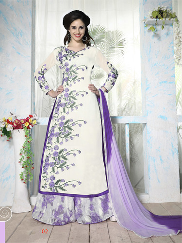 Stylish Party Wear Palazzo Suit