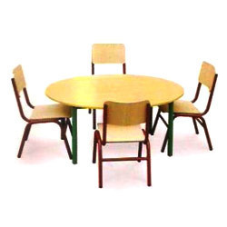 School Table With Chairs