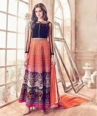 Multi Color Marvellous Festive Wear Suit