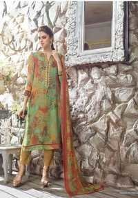 Georgette and Chiffon Stylish Embroidered salwar s