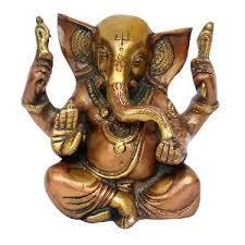 Brass Baby Ganesha