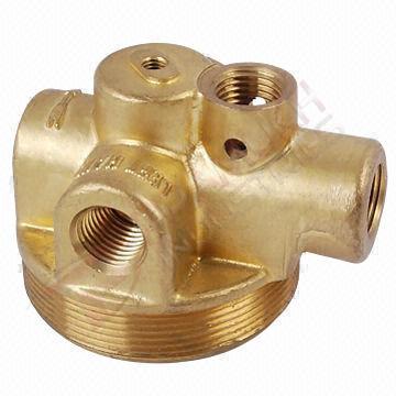 Forging Brass Part
