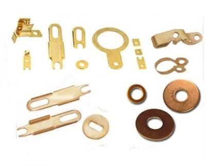 Brass Sheet Metal Part