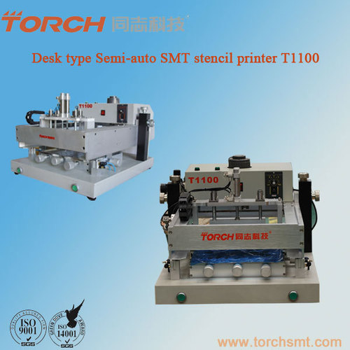 Manual high precision screen printer T1100 in electric industry for SMT