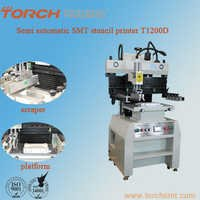 Semi-automatic high precision solder screen printer T1200D for electric industry for SMT