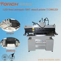 Semi-automatic high precision solder screen printer T1200LED for electric industry for SMT