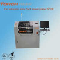 Automatic inline high precision screen printer SP500 in electric industry for SMT