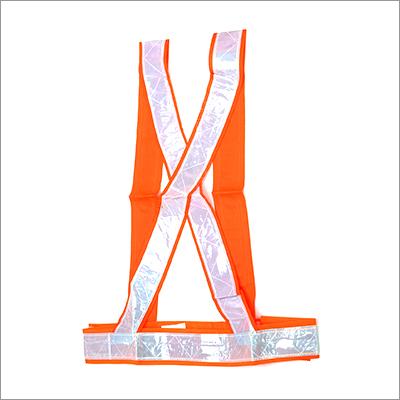 Reflective Cross Bar Safety Jacket