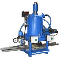 Pneumatic Single Number Punch Machine