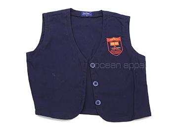 School Uniform Over Coat