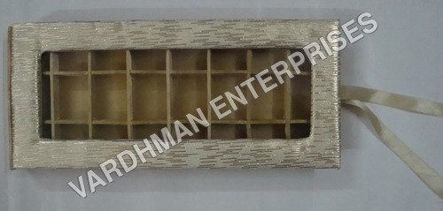 24 Cavity Mdf Satin box