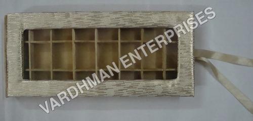 24 Cavity Mdf Satin box