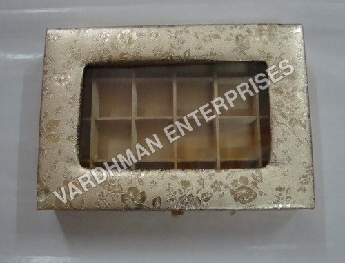 24 Cavity Chocolate Rexin box