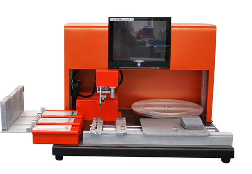 Manual high precision placement machine in electric industr