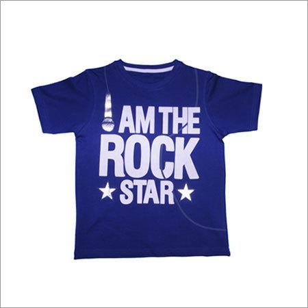 100% Kids Cotton Crew Neck T-shirt