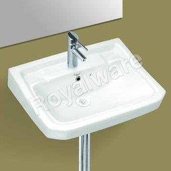 Square wash basins