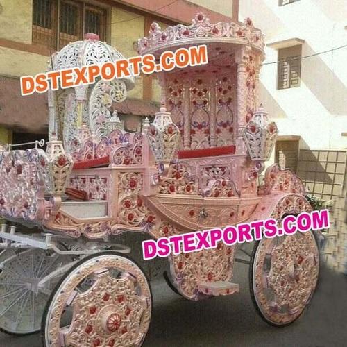 Royal Wedding  Decorated Horse Buggy