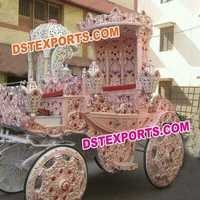 Royal Wedding  Decorated Horse Buggy