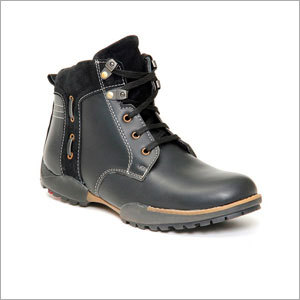 Men Black Boot