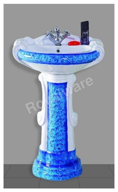 Printed Pedestal Wash Basin