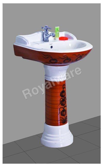 Ceramic Printed Wash Basin